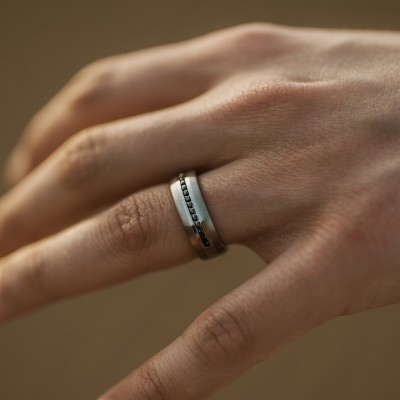 Dash Titanium Ring