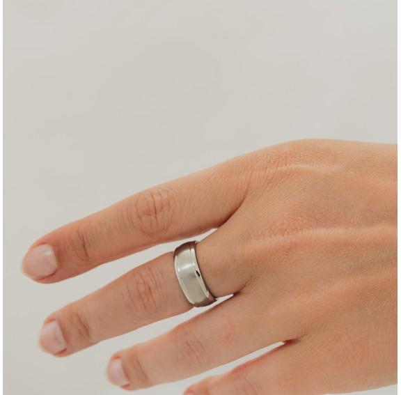 Edge Titanium Ring
