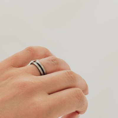 Dark Slim Ring