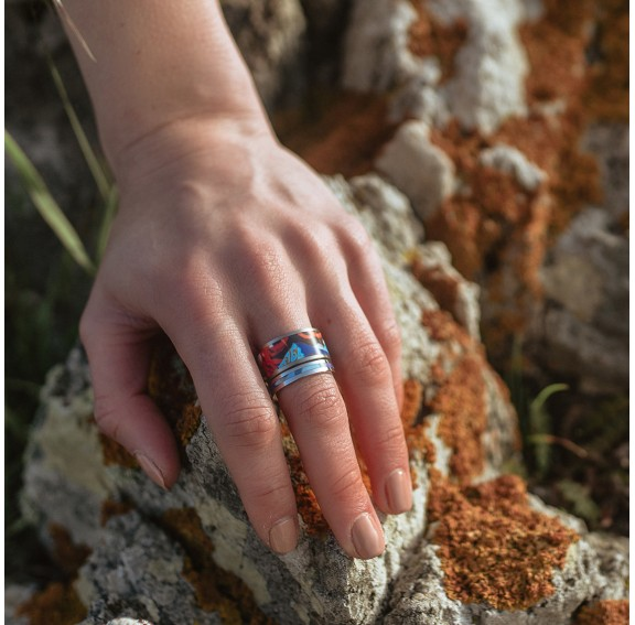 Mountain Fine Ring