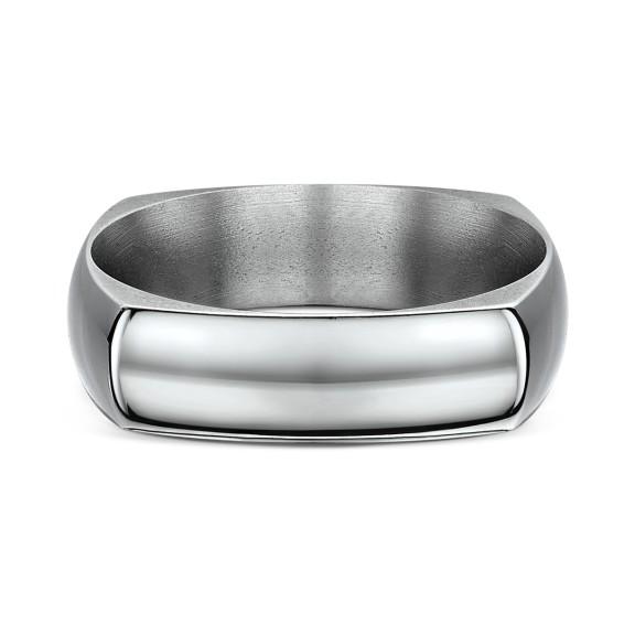 Neuro Dome Medium Titanium Ring