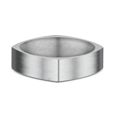 Neuro Flat Wide Titanium Ring