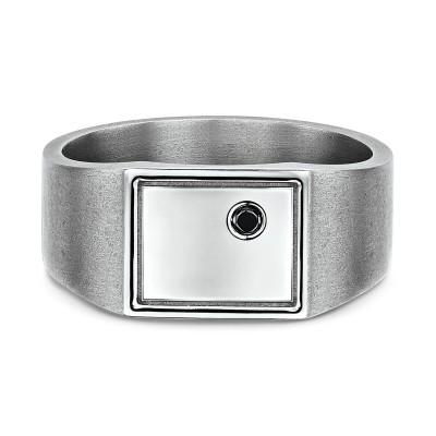 Blank Signet Ring