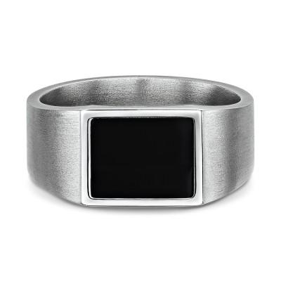 Night Signet Ring