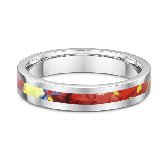 Rainbow Sand Dune Fine Ring